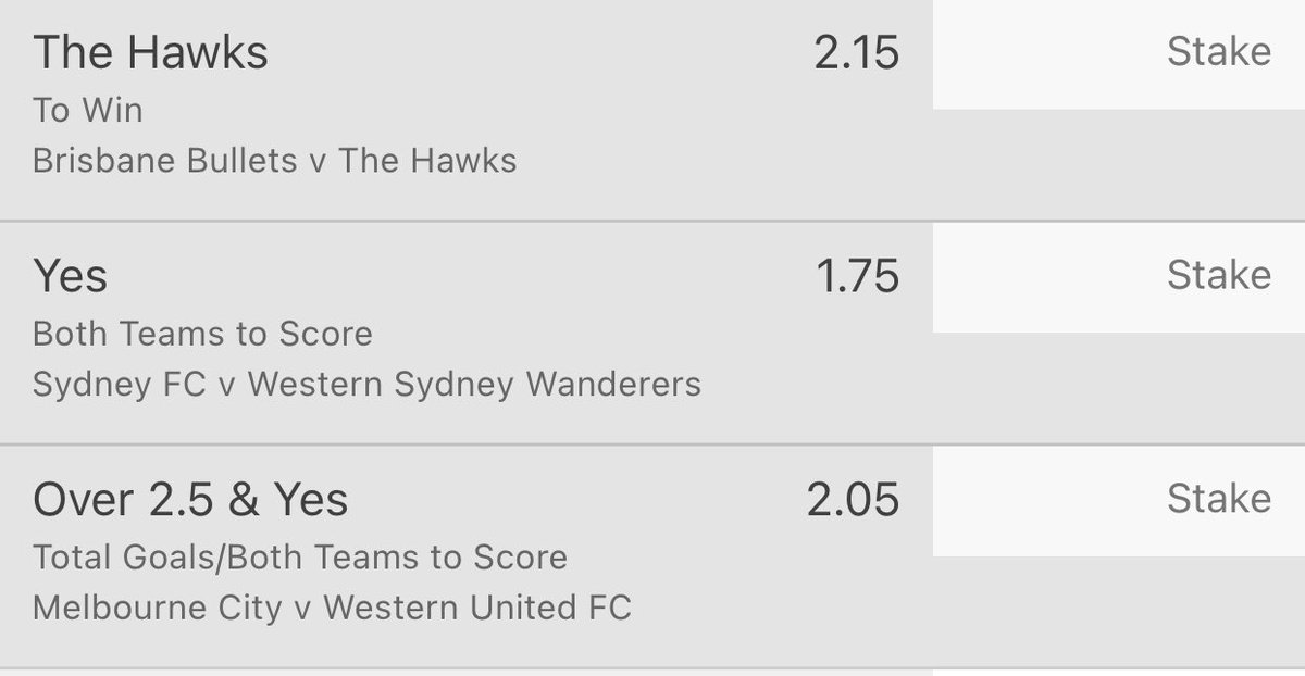 1U each for upcoming #NBL and #ALeague matches this afternoon/evening. Removing #NBA from my bio ha..the only league I'm tipping in the negative. Might wait til later/playoffs etc..and cross my fingers for Jokic #MVP 😛
