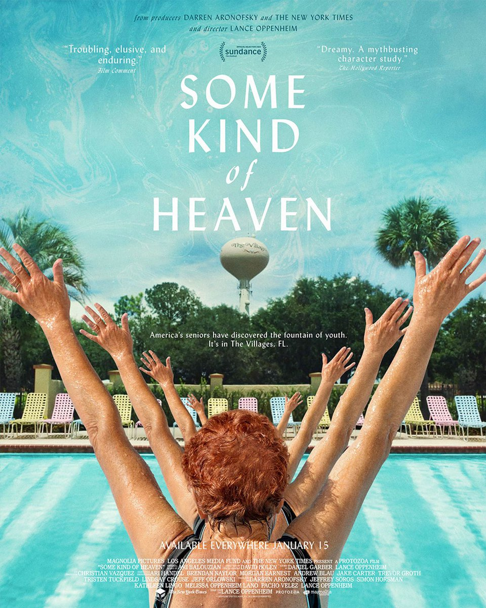 I just happen to loooooove The Villages. This is a fun a watch! #SomeKindofHeaven @thevillagesfilm