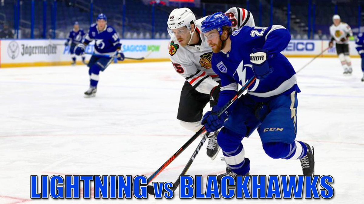New video: Dave Mishkin calls highlights from the Lightning's second win over the Blackhawks! #GoBolts