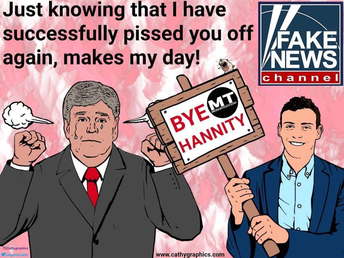 Replying to @MeidasGraphics2: @meiselasb @AaronParnas @meiselasb it's time to use thi one ⬇️ #byehannity