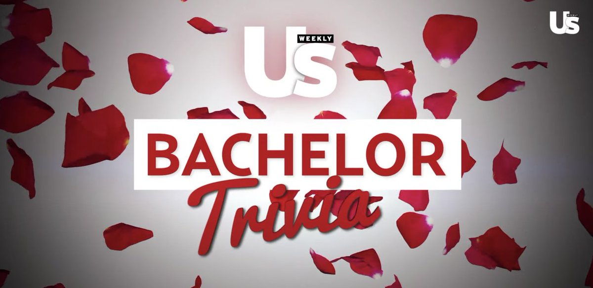 We're looking at you, #BachelorNation!! 🌹 Test your knowledge with our ultimate weekly bachelor quiz: