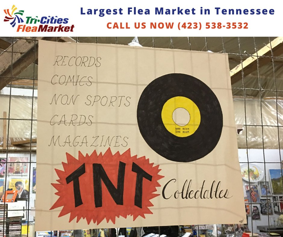We love our vendors and they love being part of Tennessee's Largest Flea Market. We would love to have you join us. For information, visit   #fleamarket #fleamarketfinds #tricitiesfleamarket #shoplocal