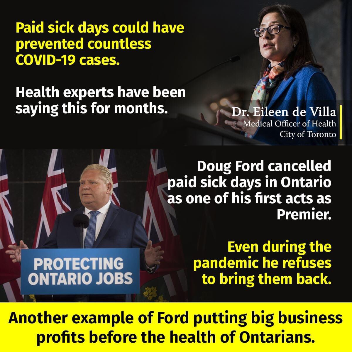 @StanChoMPP The fact that COVID-19 was let to get so out of control in #Ontario is all on the way YOU & YOUR INCOMPETENT GOVERNMENT HAVE NO PLAN! #StanChoMustGo #VoteFordOut2022