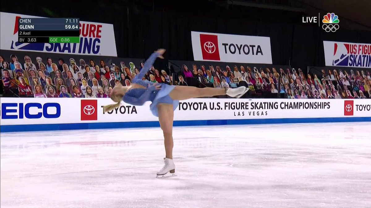Replying to @TeamUSA: It all came together. @AmberGlenn_ nailed it. #ToyotaUSChamps21