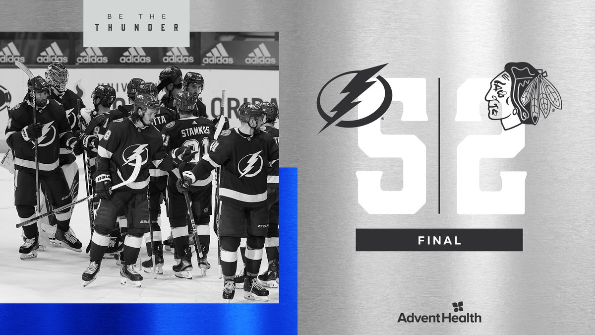 Two for two. ⚡️ #CHIvsTBL   📝:
