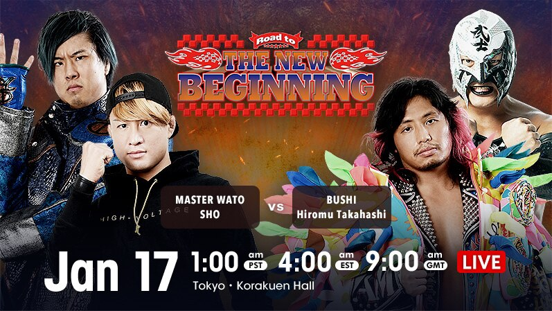 Just 24 hours until live action returns to @njpwworld!  Get on the Road to New Beginning LIVE and in English!    #njpw #njnbg