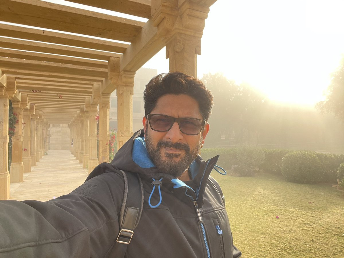 This is how Jaisalmer I looking this morning... cold and foggy 👌