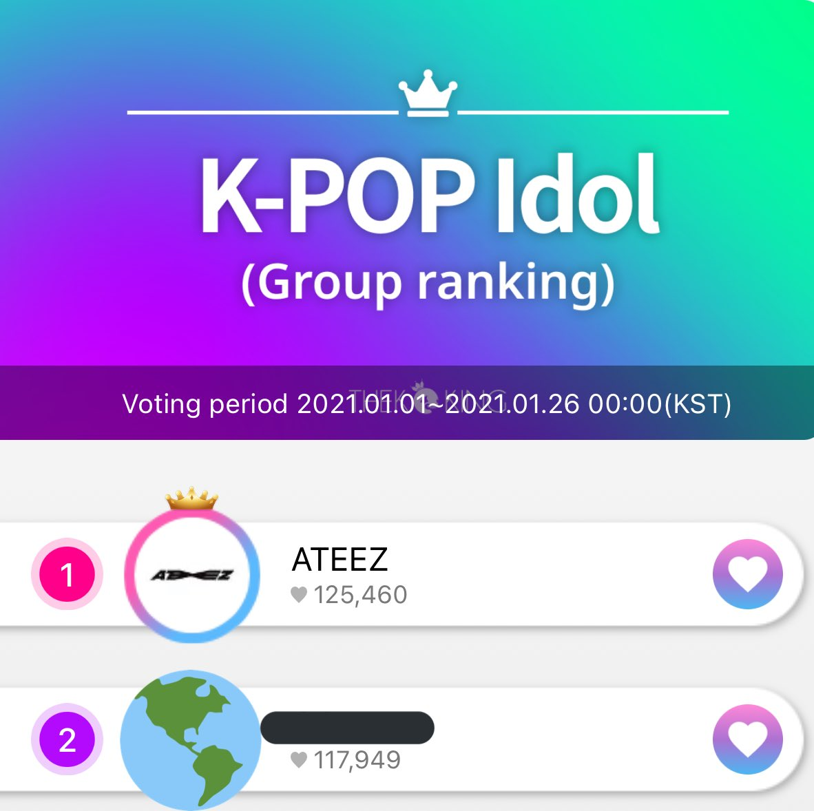[🗳] VOTING POLLS  ✨ATINY✨  If you've finished voting for SMA or you need a break, here's some other voting polls you can visit!  ✨THEKKING Group Rank:1st Most Anticipated:1st ✨FanPlus Best Leader:8th ✨TTA 🔗:    #ateez #에이티즈 @ateezofficial