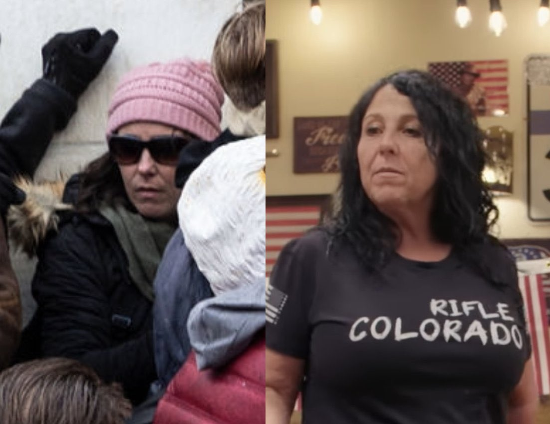 It's been put forward that the pink hat lady directing people where exactly to go in the Capitol building was Lauren Boebert's mother.  What do you think? I know there's video of her, gonna try to find it so I can listen to the voice.