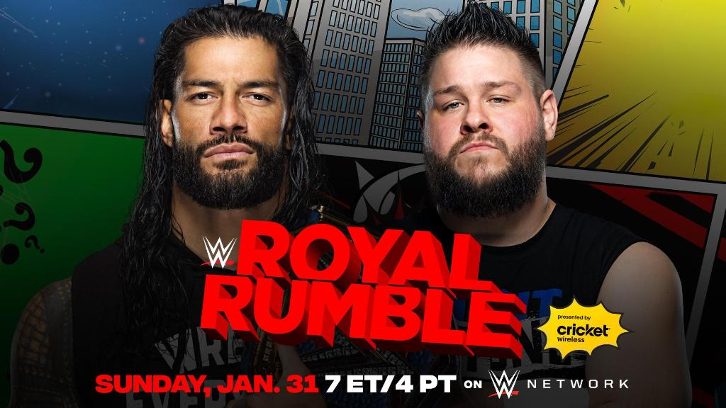 Roman Reigns vs Kevin Owens is set for Royal Rumble 2021. (Image Credits: @WWE on Twitter)