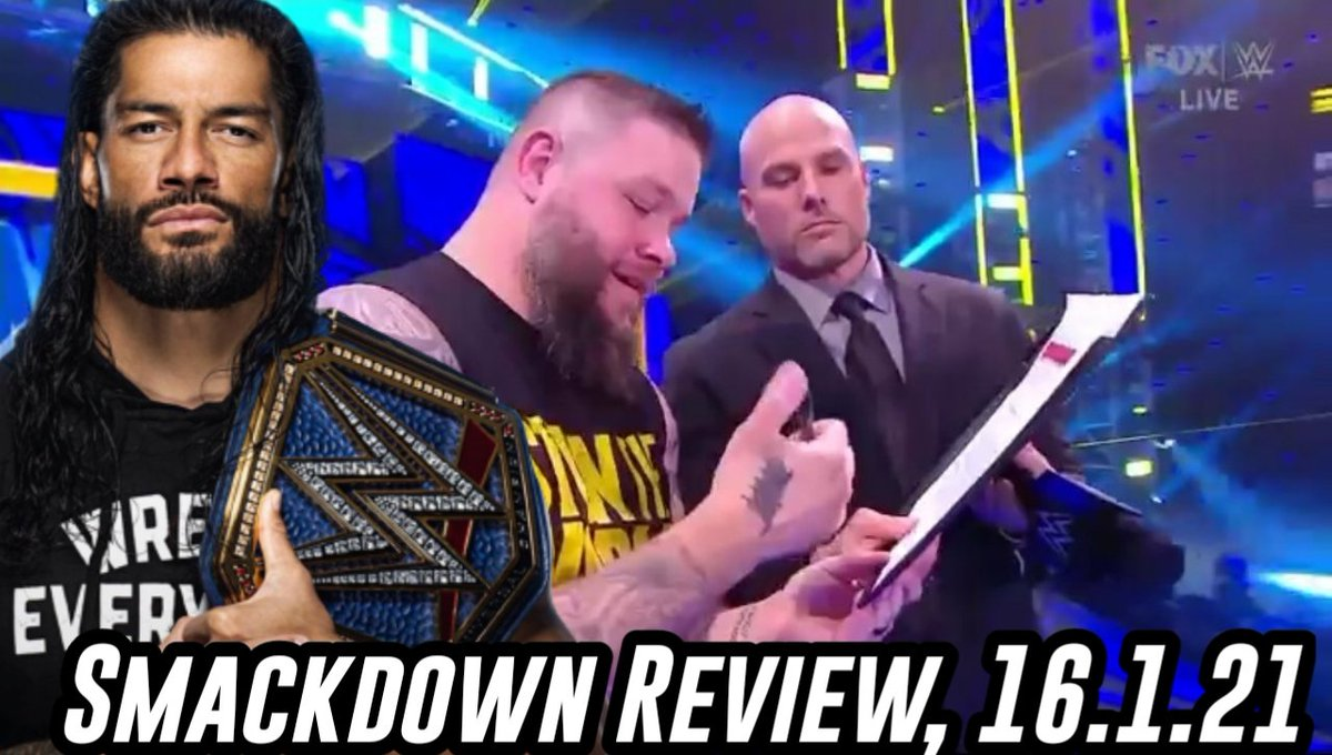 NEW VIDEO! #SmackDown review, hope you all enjoy, likes, subs, rts etc appreciated.