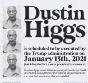 #SaveDustinHiggs #SaveCoreyJohnson theres no excuse for being silent about this!!!!! ALL of us have a platform no matter how small.. USE IT.