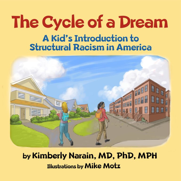 "1/18 @ Noon PST | Join #UCLAFSPH's @RacialHealthEq for a panel discussion of ""The Cycle of a Dream: A Kid's Introduction to Structural Racism in America"" with author @DrKimNarain (PhD '16) of @dgsomucla.   Register ➨    #racism #publichealth #mlkday"