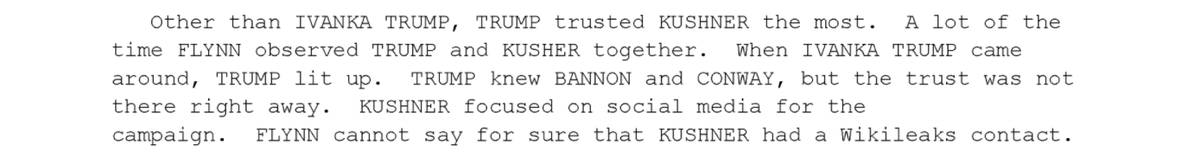 """""""Other than Ivanka Trump, Trump trusted Kushner the most ... When Ivanka came around Trump lit up."""""""