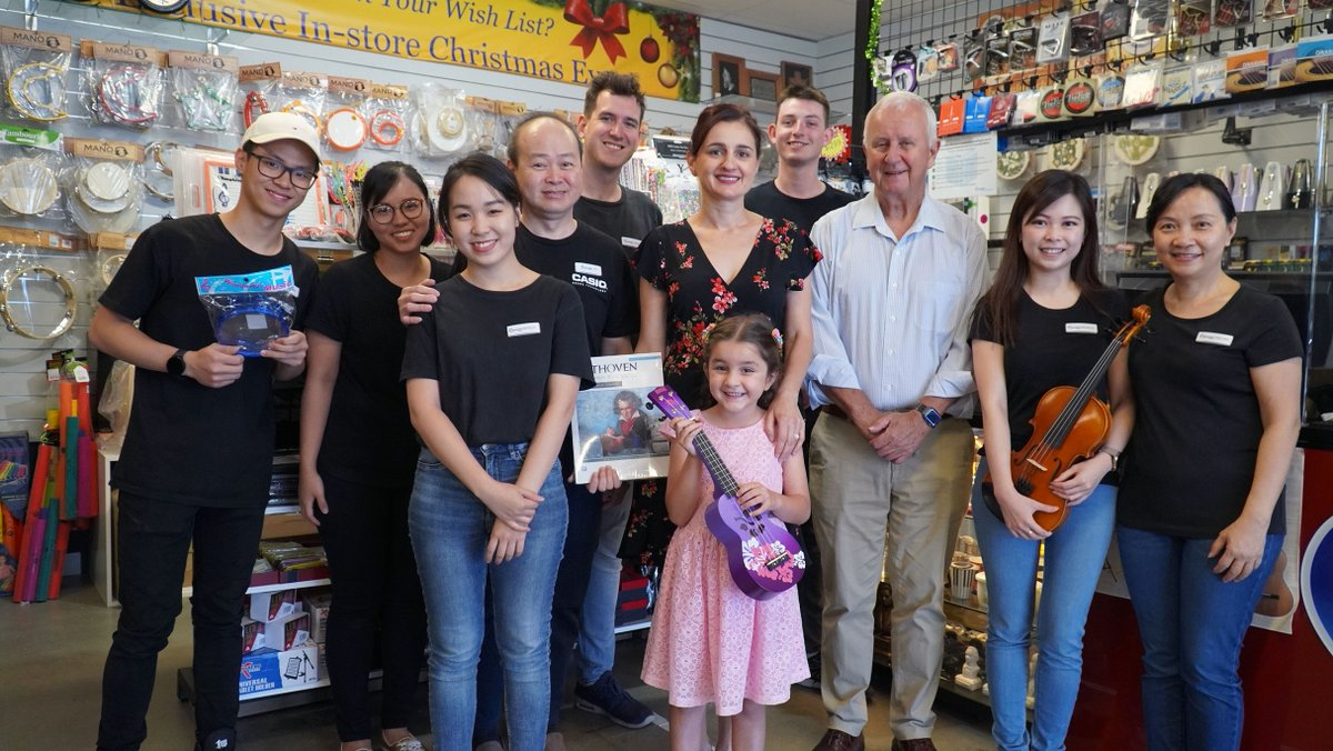 A lucky resident and #localbusiness are $1,000 richer after winning the #CityofMelville #YourLocalMelville prize draw, which encouraged residents to #supportlocal businesses in the lead-up to Christmas. #shoplocal     Read the full story here: