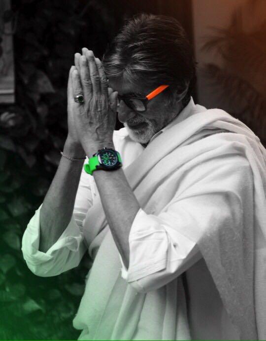 """ जब कोई काम नही कर रहे हो तो घड़ी की तरफ देखो ; और  जब कोई काम कर रहे हो तो घड़ी की तरफ मत देखो ..!! ""  ⏱⏱🙏🏻🙏🏻🕰🕰🕰🙏🏻🙏🏻⏱⏱  @SrBachchan नमस्कार सर जी   🌷  🌷"