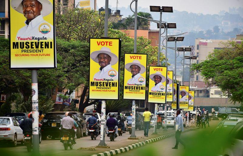 Uganda's Museveni in commanding election lead, rival alleges fraud https://t.co/QlqEhn8toy https://t.co/OxdnRUQJej