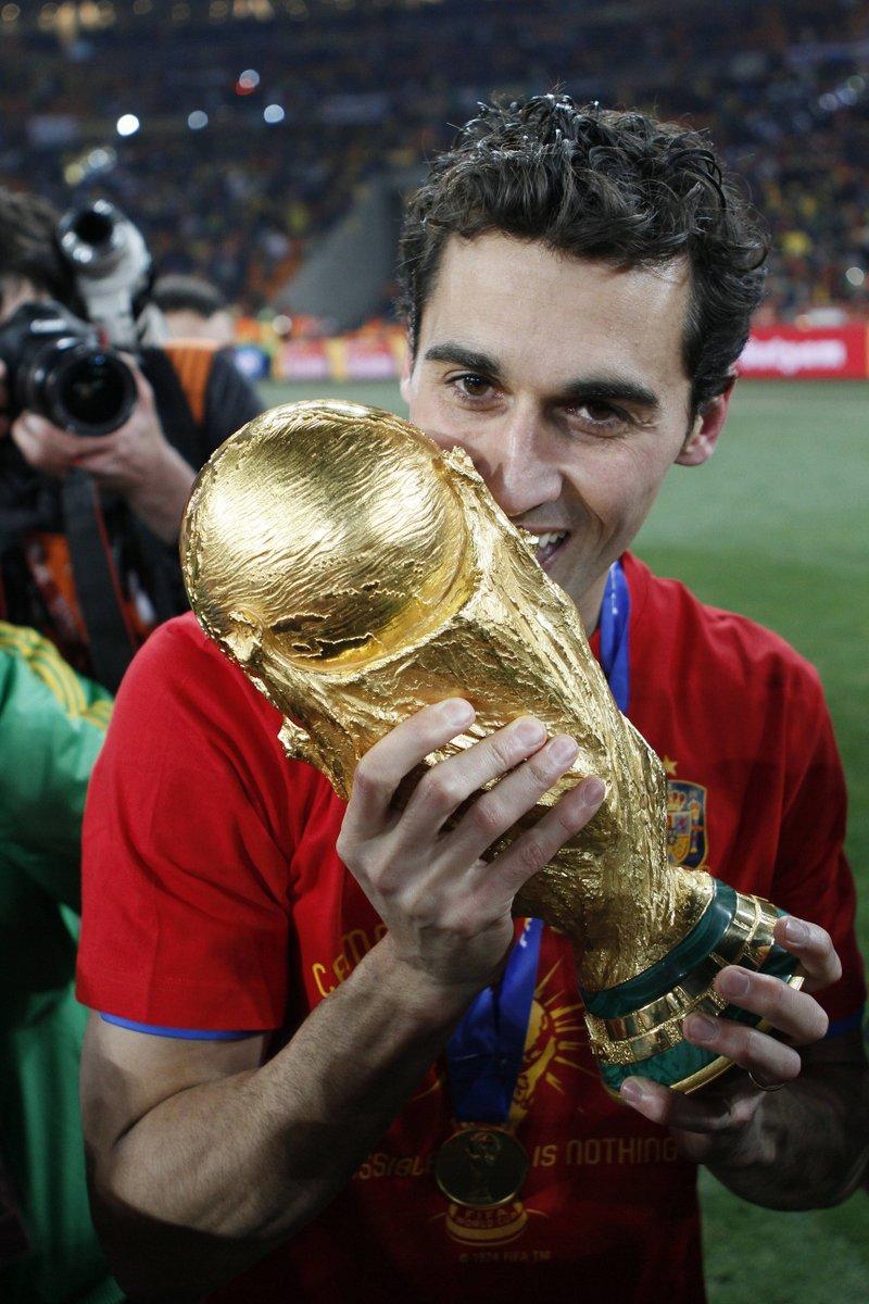 🏟️📸 Sending Soccer City memories to a #WorldCup winner on his 38th birthday. Have a great one, Alvaro Arbeloa! 🏆🎊  @aarbeloa17 | @SeFutbol
