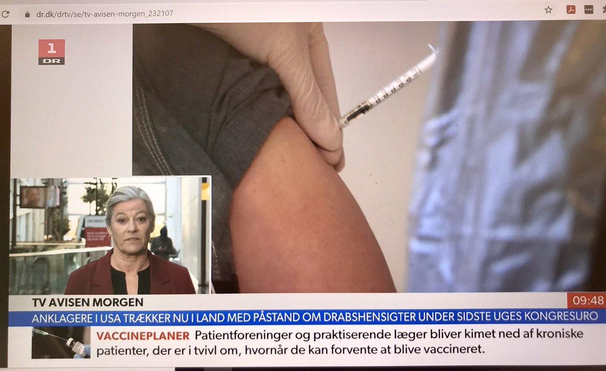 .@AnneKaltoft  i @DRNyheder. Vi skal sikre en ensartet, systematisk vurdering af patienterne, der skal vaccineres. Vi må ikke tabe de sårbar patienter. #sundpol https://t.co/dms09lEmAW