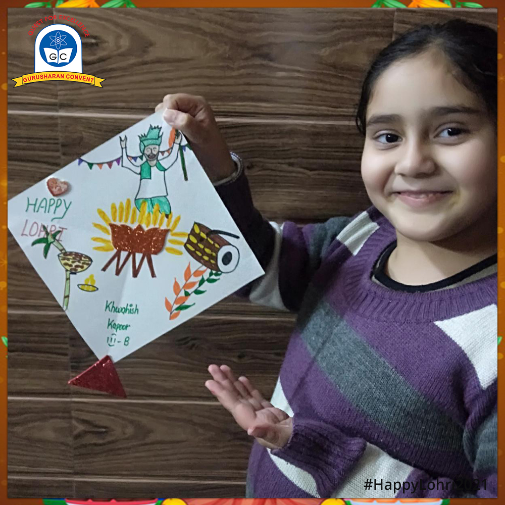 Gurusharan Convent students have strived hard to craft a piece of art. Every drawing depicts Lohri as a festival of warmth, love and happiness. So let's rejoice and relish every moment of the day. #GurusharanConvent #Delhi #Lohri #Lohri2021 #Lohricelebrations #art #artwork