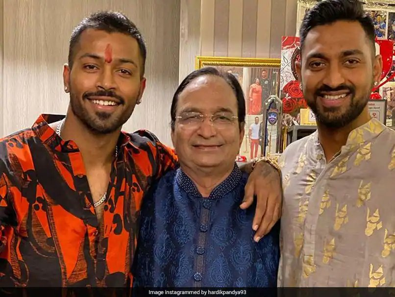 💔Heartbroken to hear 🏏about the demise of 🏏Hardik and Krunal's dad.😢  rest in peace.🙏 @hardikpandya7 @krunalpandya24 #HardikPandya #KrunalPandya #Dad #RestInPeaceToree #BCCI #MumbaiIndians #fatherhood