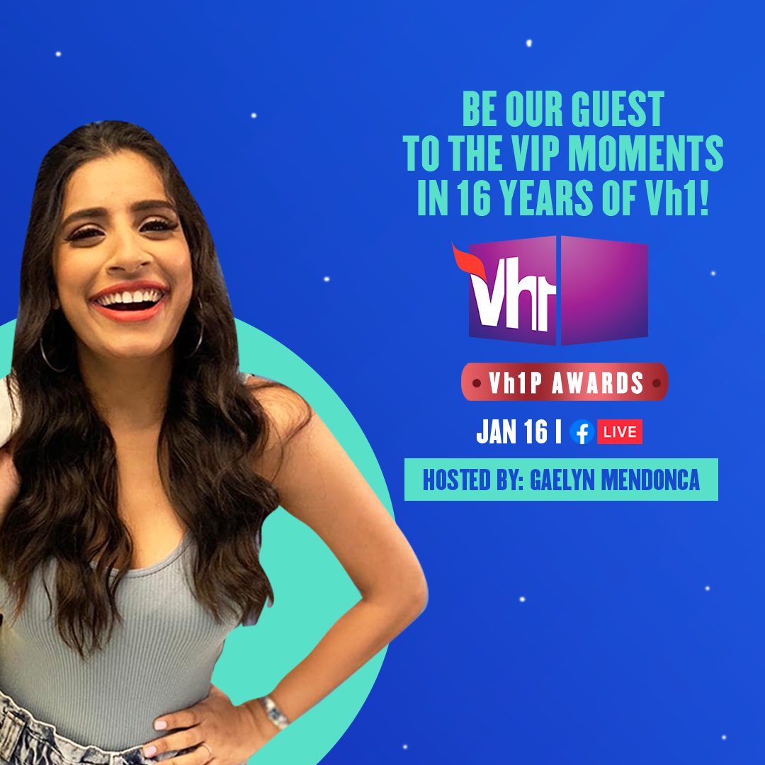 Are you ready? Look forward to a night of music, pop-culture, special performances & everything awesome!  Tune-in to the #Vh1PAwards on Facebook Live, today at 6 PM.  #Vh1India #GetWithIt