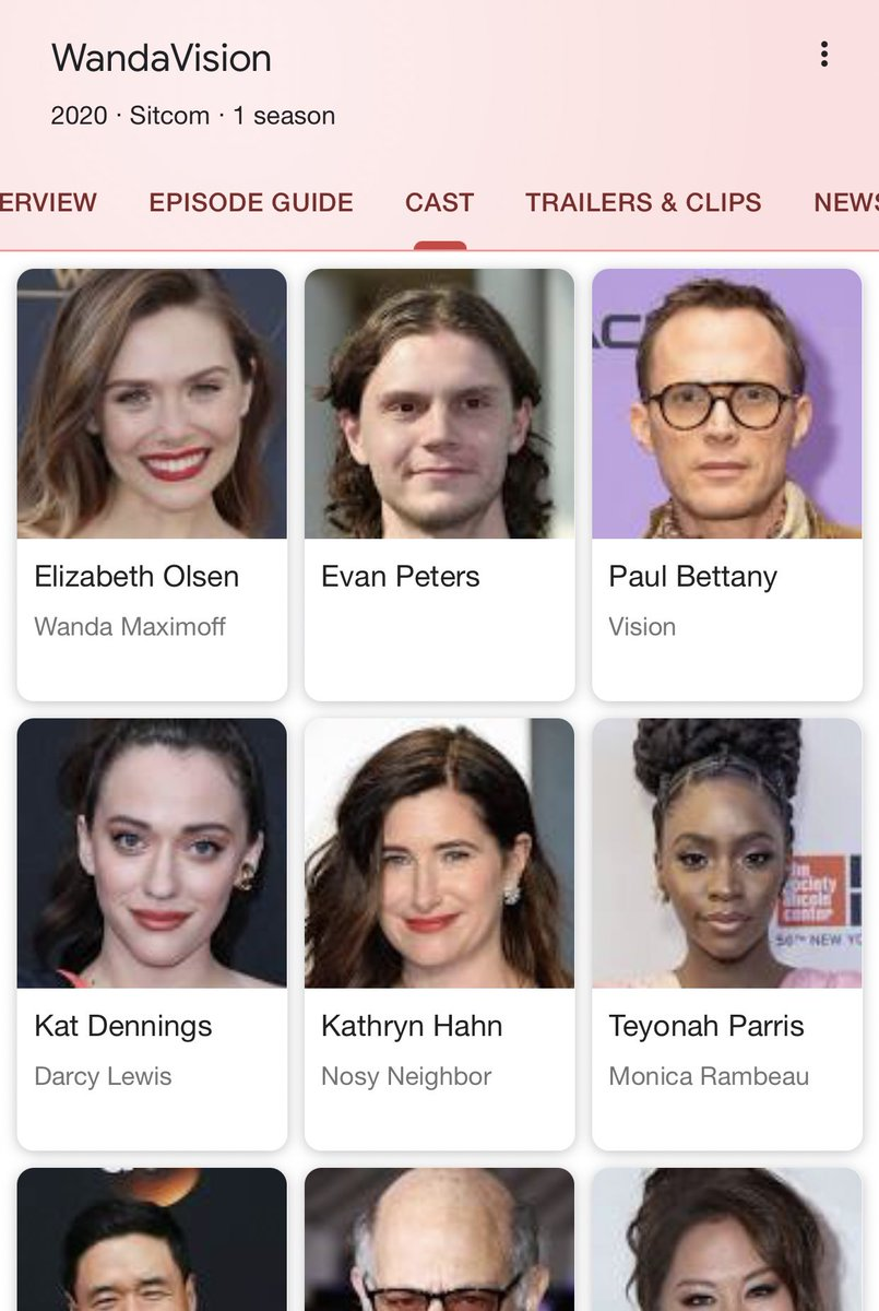 Wait guys... didn't Even Peters play quicksilver at one point?? #WandaVision