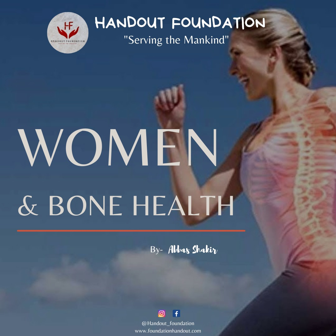 Hand Out Foundation supports women. We wish to raise #Awareness  for #women  and their bone health. #womenempowerment #womenhealth #bonehealth #healthcare #healthy #healthylifestyle  -Abbas shakir