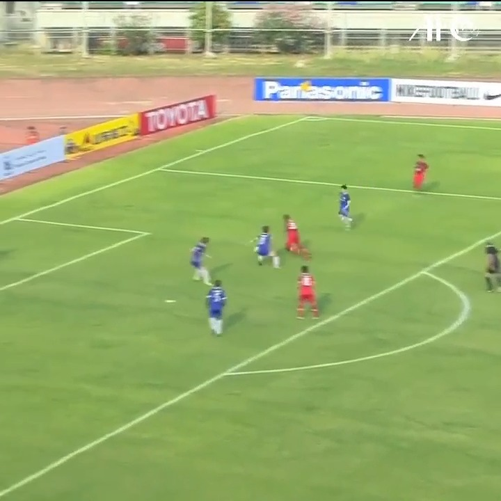 ⚽ ⚽ ⚽  How's this for a hat-trick?  💯 Christopher Iyikwobe at the treble for 🇲🇲 Ayeyawady United at the #AFCCup2016!