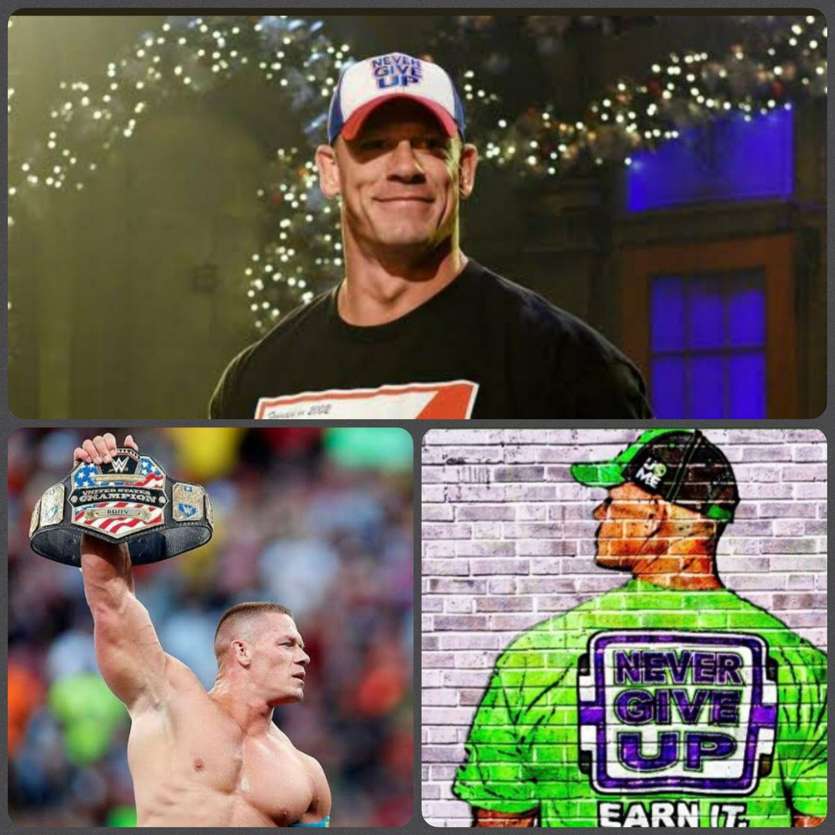 #JOHNCENA WAS THE REASON  I STARTED WATCHING WRESTLING. HOPE HE RETURNS ANY TIME SOON. @JohnCena   PS : I took this pics from a page on #Twitter . However, I don't remember his name. Thanks to him.  #wwe #wweraw #smackdown #wwenxt #aew #AEW #AEWDyanmite #Wrestling #ProWrestling