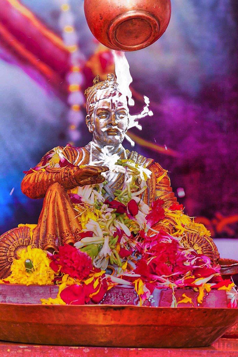 रणधुरंदर सिंहसनाधिश्वर छत्रपती संभाजी महाराज राज्याभिषेक दिनाच्या तमाम रयतेला मनःपुर्वक शुभेच्छा !!  #छत्रपती_संभाजी_महाराज  #श्रीशंभुराज्याभिषेक #म