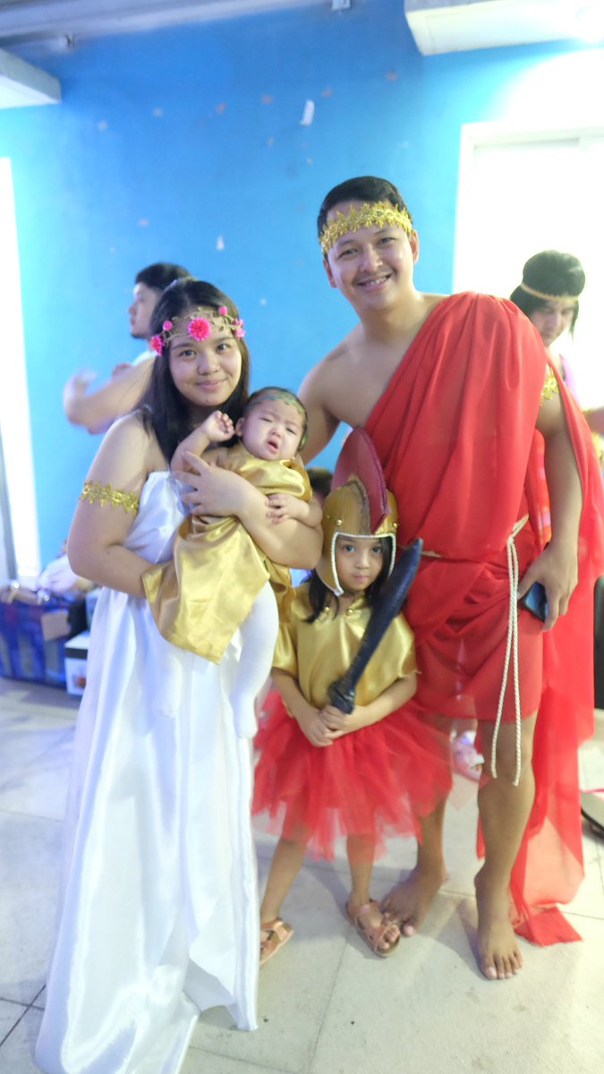 """Greek and Roman Gods and Goddesses Costume Party""  #NewYearsEve  #2020ends  #LatePost"