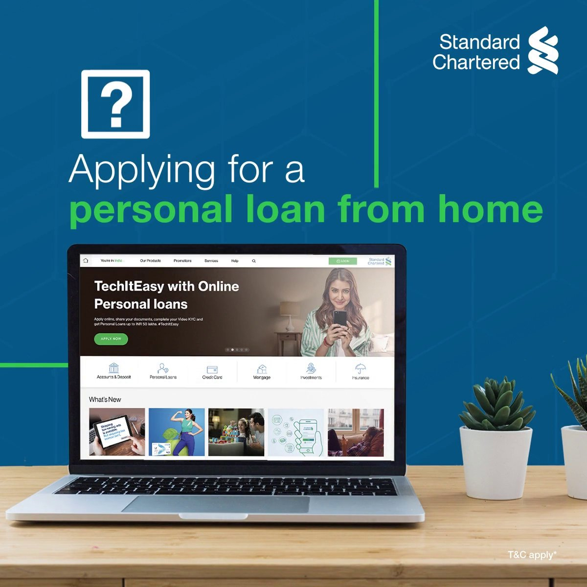 Attending a wedding from home isn't the only thing you can do online! #TechItEasy and apply for a Personal Loan online, from the comfort of your home. ✅Fill the online form ✅Verify your documents with a Video KYC ✅Get the amount instantly! To know more,