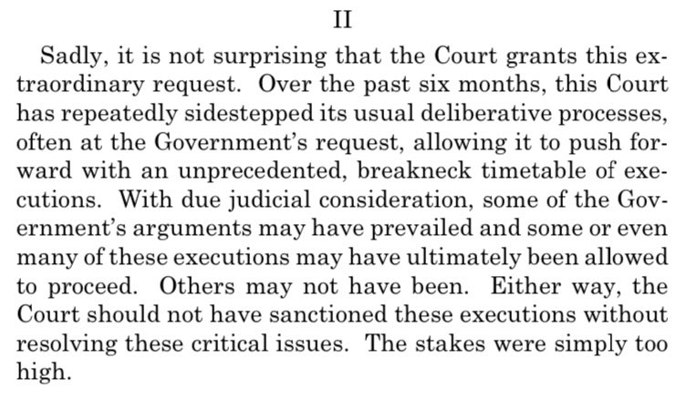Replying to @Sifill_LDF: Tonight. Justice Sotomayor in U.S. v. Higgs: