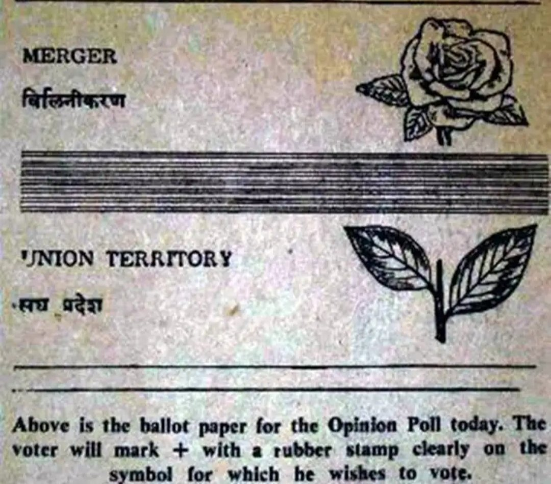 Congratulations to Goenkars on anniversary of #GoaOpinionPollDay. It's a day we got our identity.  Our #Asmitai once again is in danger as BJP govt listens to their high command and not to people of Goa.  t's time again to reclaim Goa. #GoaisforGoans
