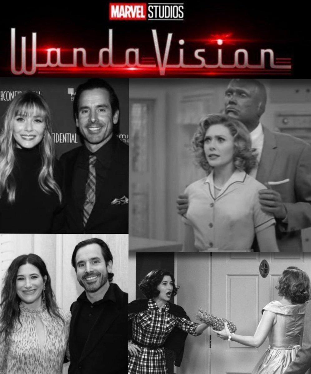 Who watched @wandavision ?  Great job #elizabetholsen #kathrynhahn @marvel #wandavision #marvel