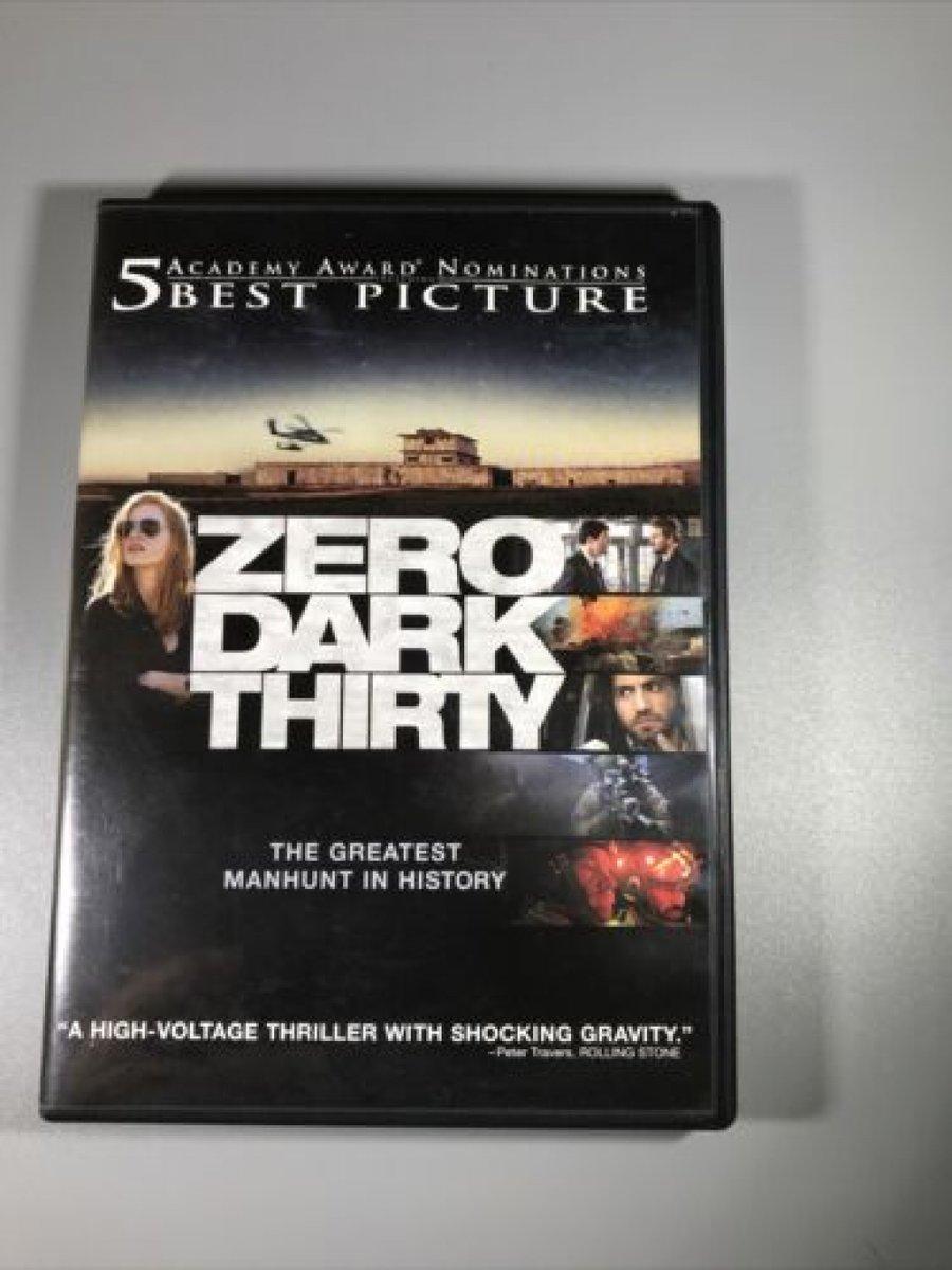 Zero Dark Thirty (DVD, 2013) $4.49  #shopsmall #sales #onlineshopping #deals