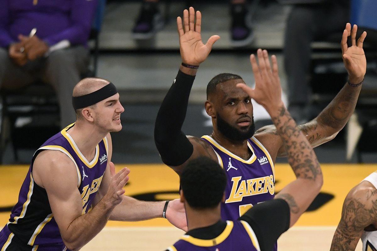 #WontBowDown était motivé hier soir au Staples Center pour affronter le #LakeShow ! 20pts pour Ingram, 21pts pour Zion, mais LA était plus fort porté par capitaine LeBron (21pts, 8rebs, 11pds) : victoire des Lakers 112-95. Bon match de Kuzma en sortie de banc (11pts, 13rebs).