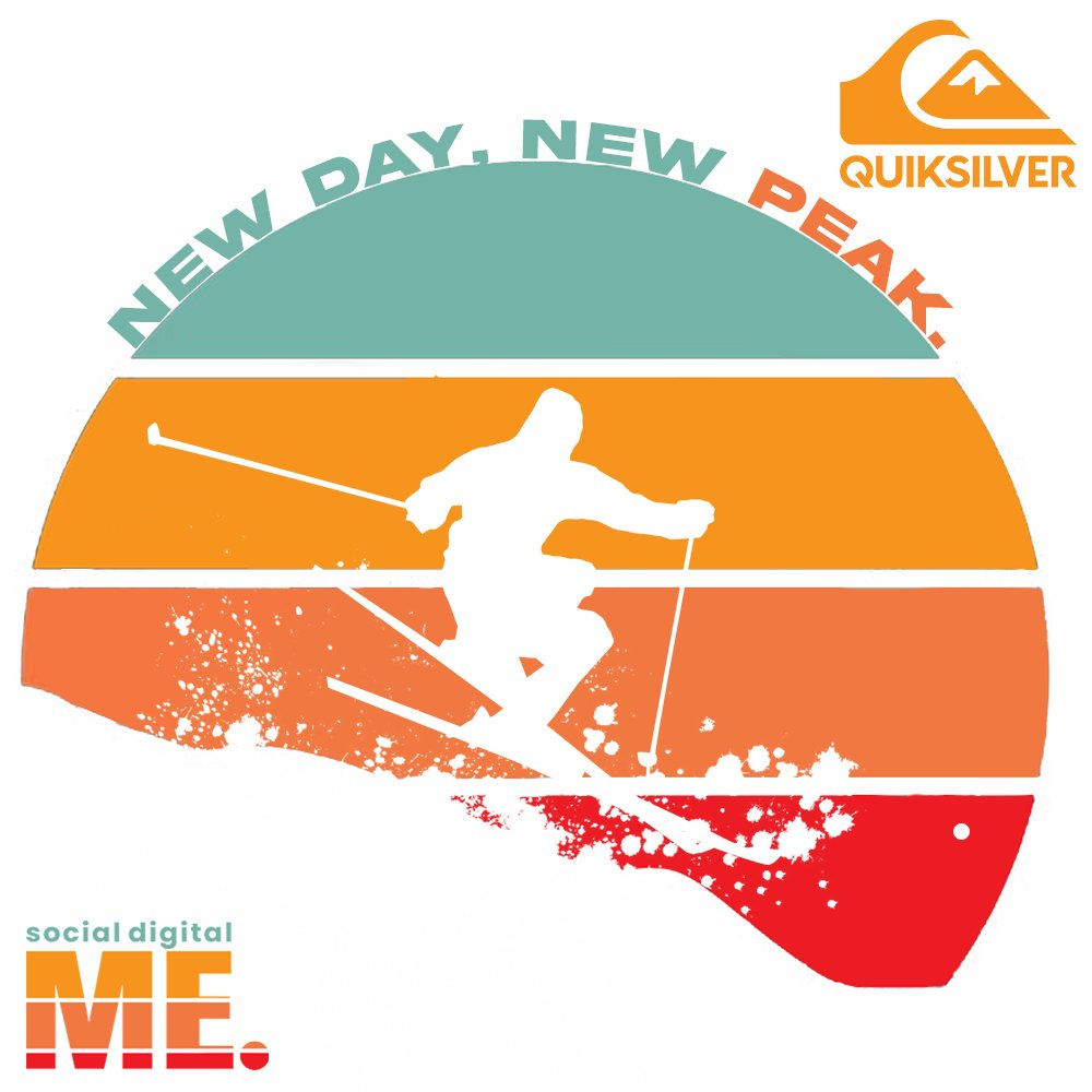 New Day, New Peak.  #letsbegreat  #ski #sun #winterwear #branding  #socialdigitalme