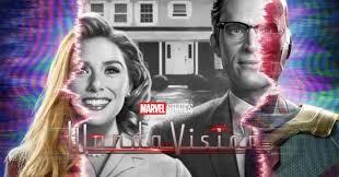 Esta serie  comienza como un sitcom tiene algo del formato wildscreen  que aparece cuando termina el episodio y se regresa a la realidad #WandaVision