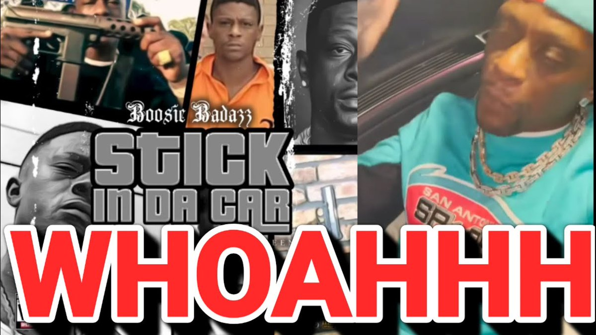 Boosie Dropped Stick In The Car Song  Bad Choice Or Not?🔥🔥🔥 ...... -  #hoodgrind #hiphop #breakingnews #battlerap #hiphopnews #celebrities #gossip #celebritygossip #hoodclips #music #rnb #pop #podcast #rap #videos #funnyvideos