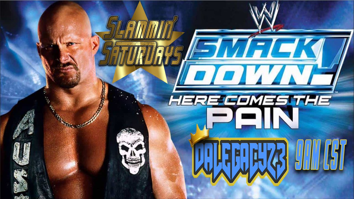 Don't forget you sexy peeps, tomorrow morning is #SlamminSaturdays ! this week, #SmackDownHCTP Can we Reach 200 Followers?!   Tune in at 9am CST    #SmallStreamersConnect #WWE #Wrestling #TwitchStreamer  #SmackDown #streamer #PS2