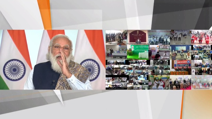 Prime Minister Modi launches world's largest COVID-19 vaccination campaign