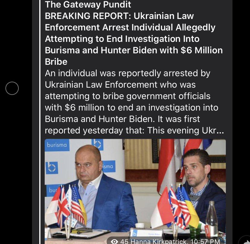 @disclosetv well well    #Biden #BidenHarris2020 #Ukraine #UkraineGate