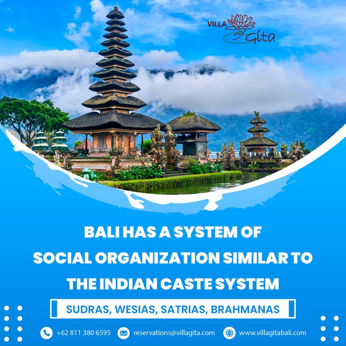 Bali has a system of social organization similar to the Indian caste system- Sudras, Wesias, Satrias, Brahmanas.   +62 811 380 6595 #balineseculture #socialorganization #kuningan #music #events #happy #happiness #art  #familytime #balinese  #celebration