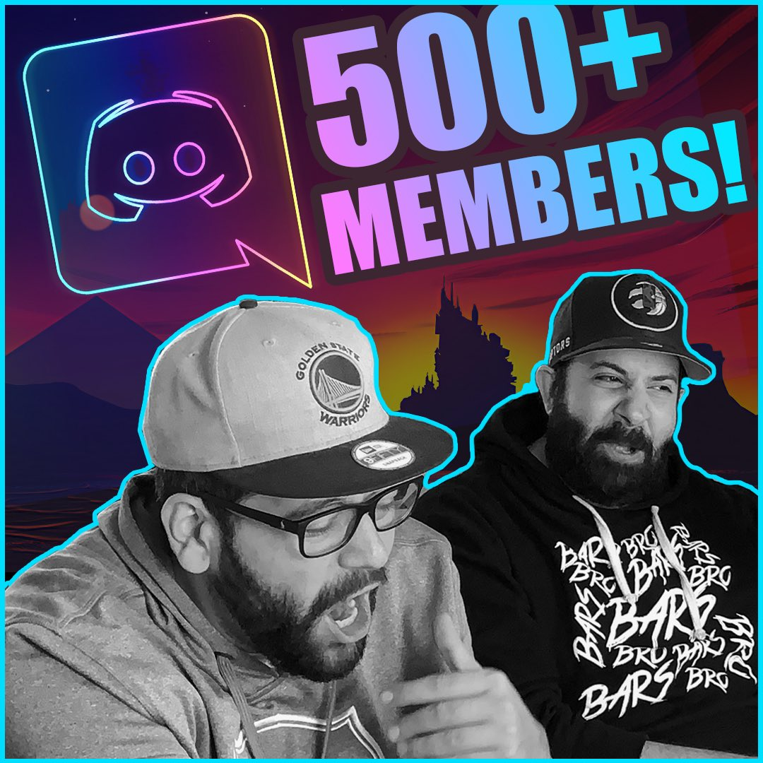 Our discord is lit!! 500+ members!! The fam constantly showing us love ❤️ #discordfamily #jkfam #Discord   LETS CHAT ON DISCORD!!  https://t.co/ODguHDE63r https://t.co/wDBiiHI3R4