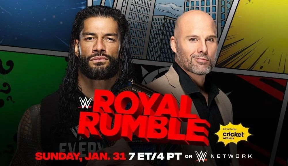 Oh #WWE! You nearly had us you little scamps!   BIG CHANGE TO #ROYALRUMBLE TITLE MATCH ON #SMACKDOWN