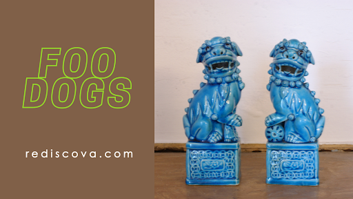 NEW IN ,these gorgeous turquoise #chinese #Foodogs are your #YINandYANG thought to protect the home & all that is in it, and must be always be placed together according to #fengshui  For more details please follow the link