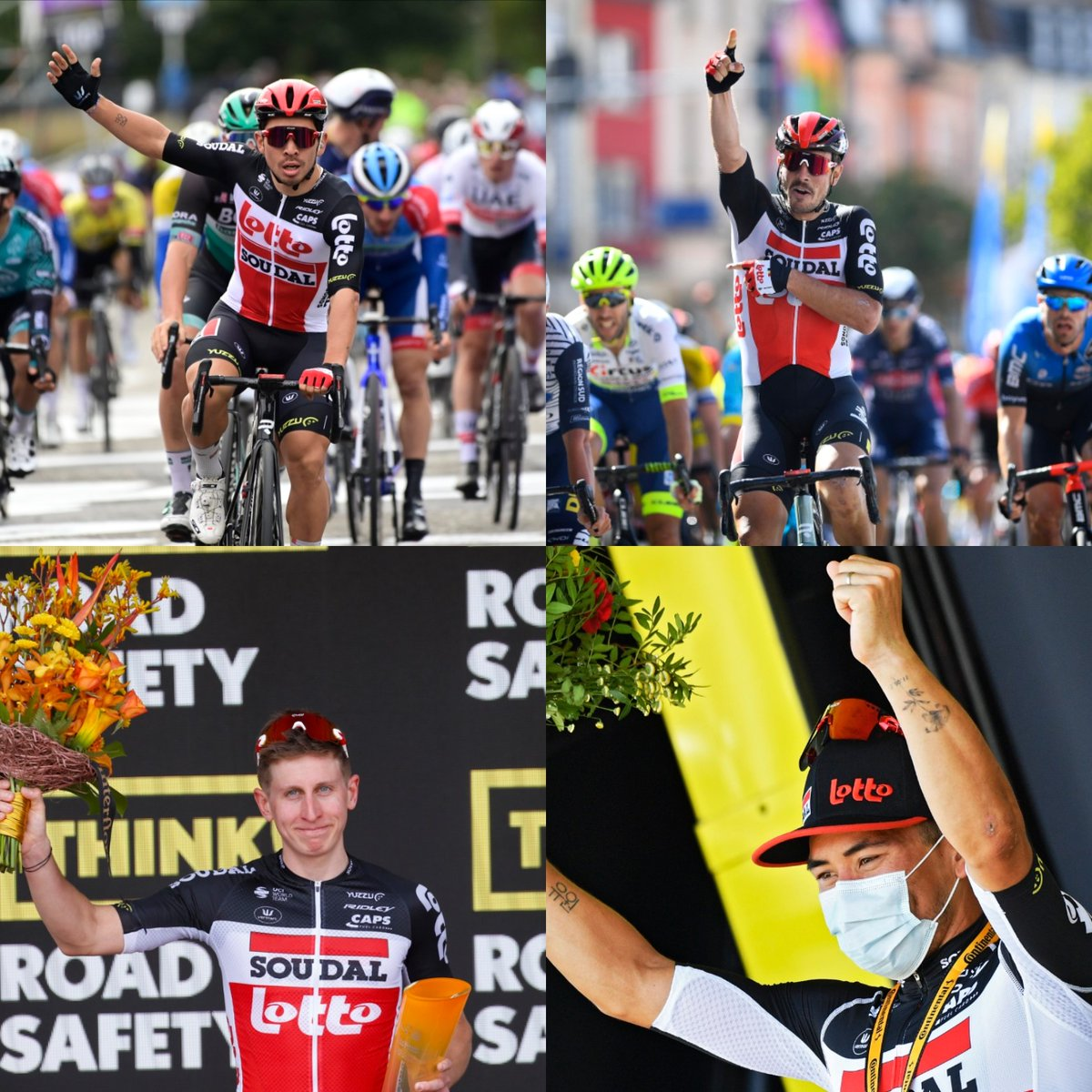 2020. A year in which not only our riders enjoyed the winning feeling, but also a great deal of the @NatLot_Belgie players. Besides, the Nationale Loterij invested 325 million euros in Belgian society last year.  @NatLot_Belgie let's go for more of that winning feeling in 2021😉 https://t.co/22QMwboLDc