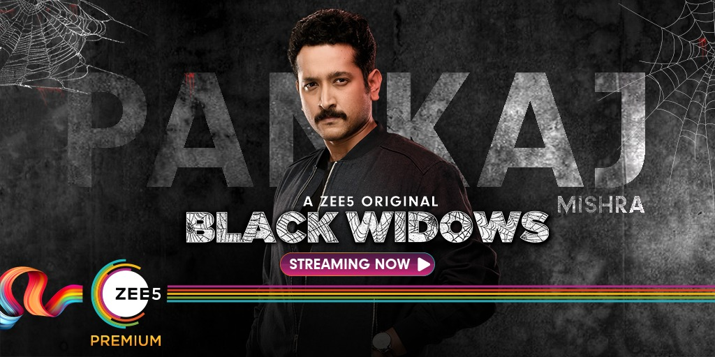 Detective Pankaj will have you in checkmate when he investigates. #BlackWidows Streaming Now! #WomenOnTop
